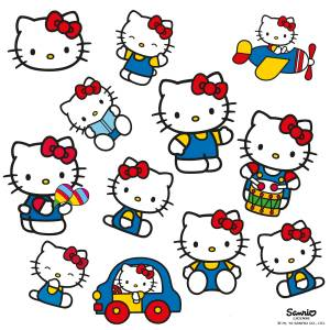 Reflectores de Hello Kitty