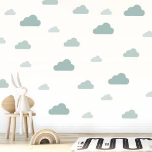 Adhesivos para pared: Nubes