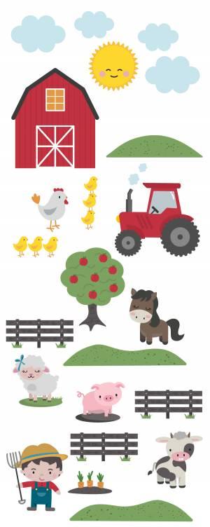 Adhesivos para pared: La granja