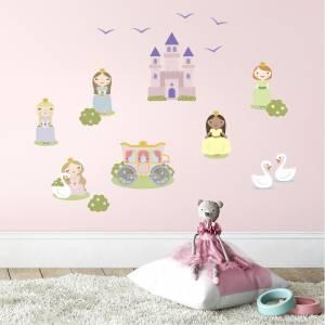 Adhesivos para pared: Princesas