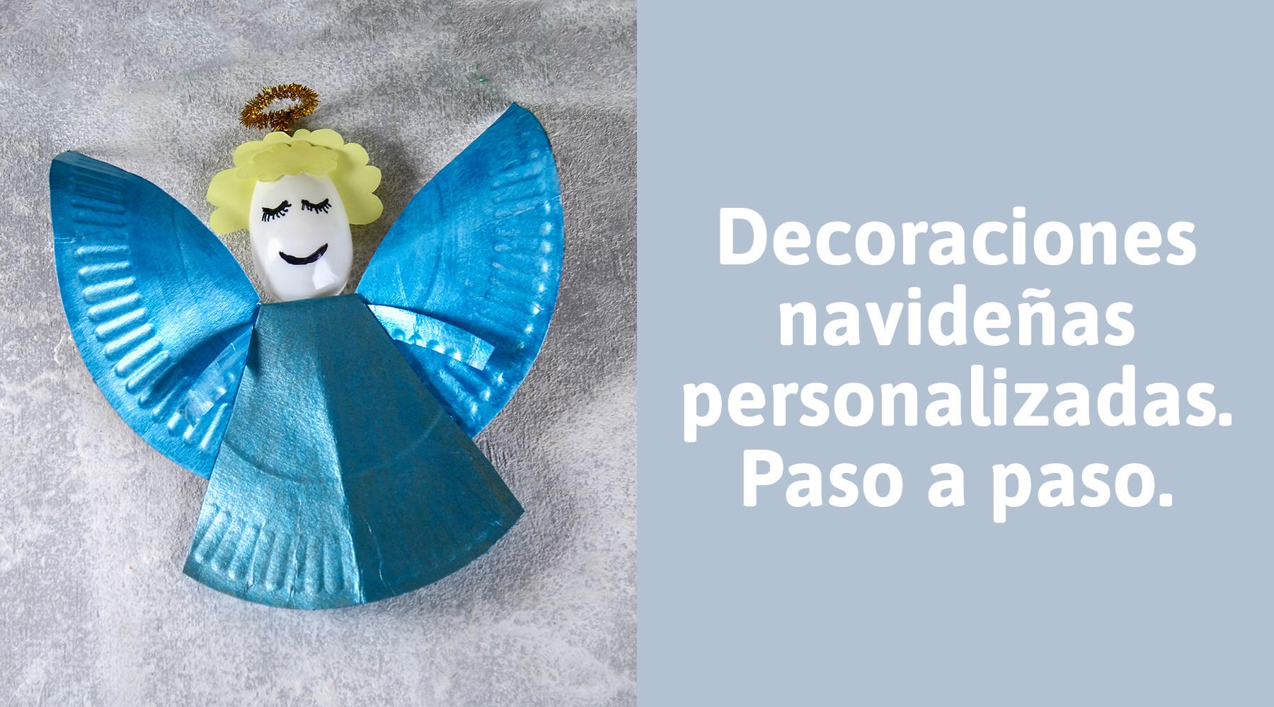 Crea un ángel para el taller de Navidad de este año