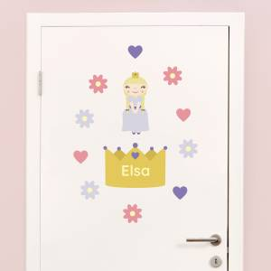 Adhesivos personalizables: Princesas