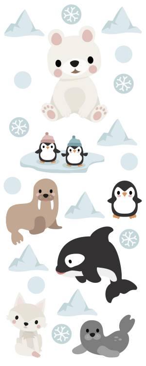 Adhesivos para pared: Animales del Ártico