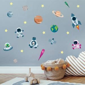 Adhesivos para pared: El universo