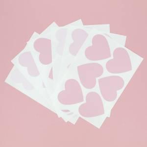 Adhesivos para pared corazones