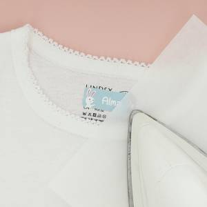 Marca tu ropa con etiquetas termoadhesivas